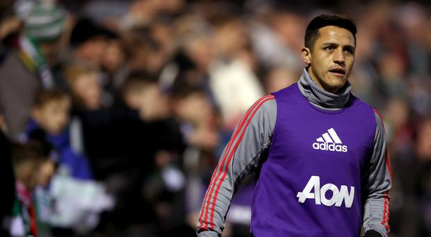 In pictures alexis sanchezs manchester united debut manchester uniteds alexis sanchez made his debut at yeovil stopboris Image collections