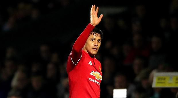 Alexis Sanchez made his Manchester United debut against Yeovil in the FA Cup fourth round