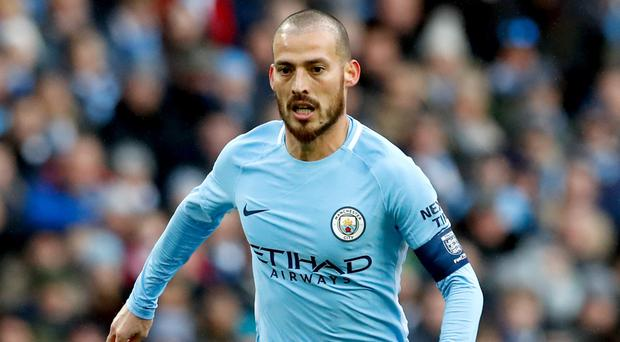 Manchester City have won the 24 matches in which David Silva has featured