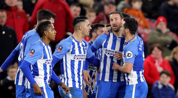 Middlesbrough v Brighton and Hove Albion – Emirates FA Cup – Fourth Round – Riverside Stadium