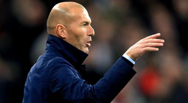 Real Madrid head coach Zinedine Zidane is determined his team can have a positive end to the season