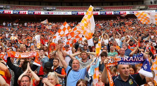 Blackpool fans have not had much to cheer since relegation from the Premier League in 2011 but last season's promotion from League Two provided a lift