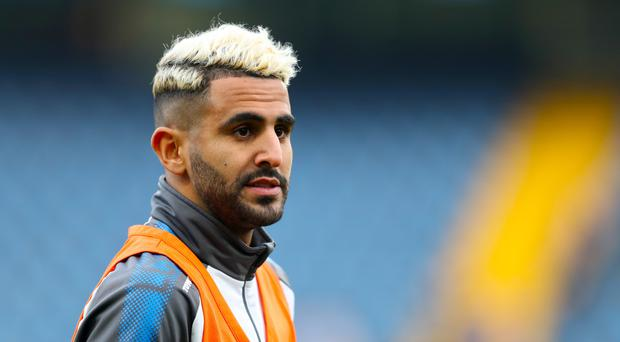 Riyad Mahrez will not feature for Leicester this weekend