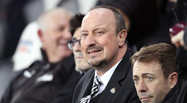 Newcastle manager Rafael Benitez has no plans to retire soon