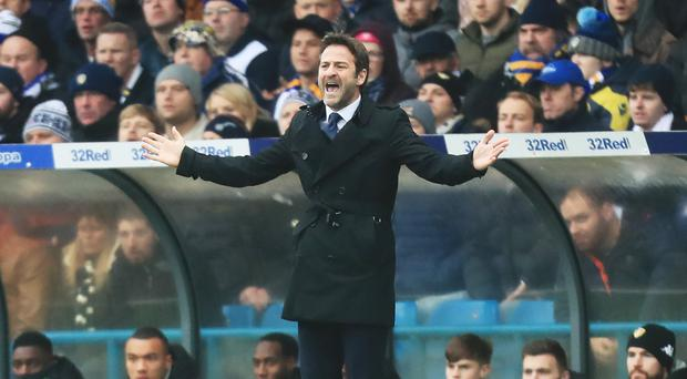 Leeds have sacked Thomas Christiansen