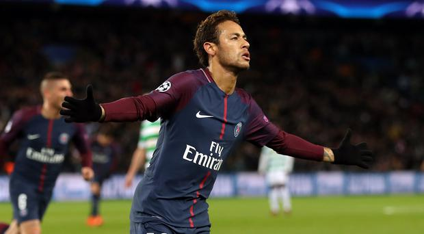 Neymar scored and hit the woodwork twice in PSG's win at Toulouse