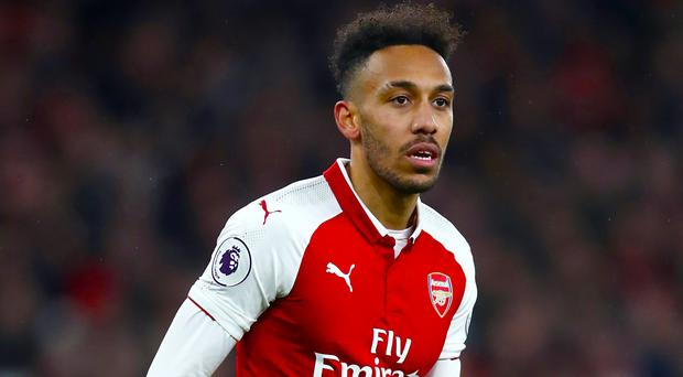 Pierre-Emerick Aubameyang will not play for Arsenal on Thursday (John Walton/EMPICS)