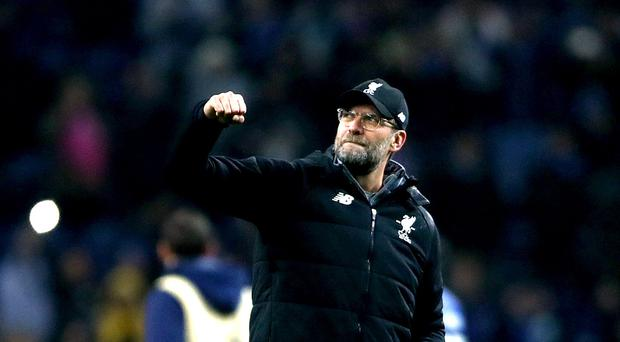 Jurgen Klopp was delighted with a fine team performance