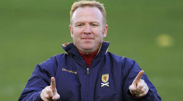 Alex McLeish first managed Scotland in 2007
