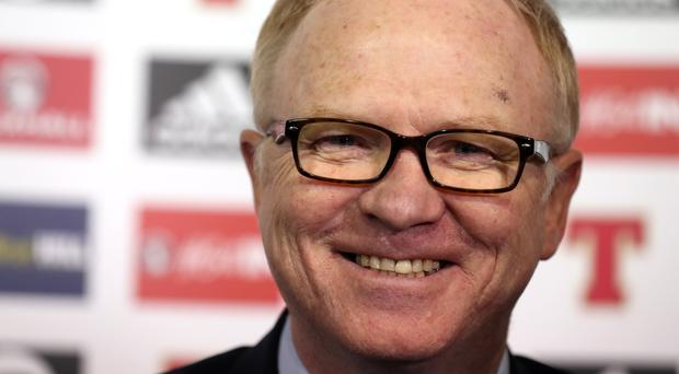 New Scotland manager Alex McLeish during the media unveiling at Hampden (Andrew Milligan/PA Wire)