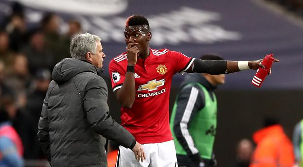 Jose Mourinho and Paul Pogba have been in the spotlight of late