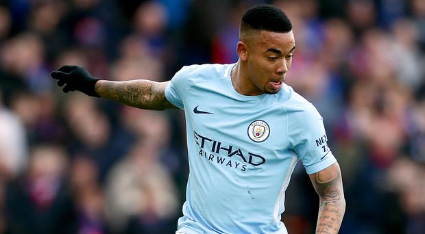 Manchester City's Gabriel Jesus is back in training