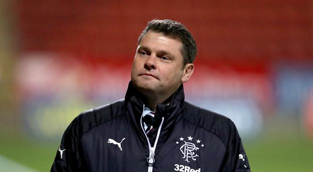 Rangers manager Graeme Murty is determined to improve his side