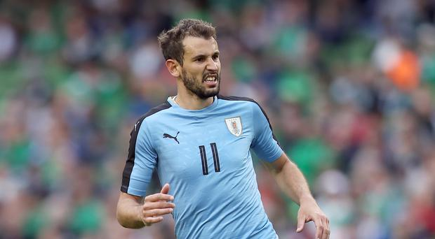 Uruguayan Cristhian Stuani was on target for Girona (Simon Cooper/Empics)