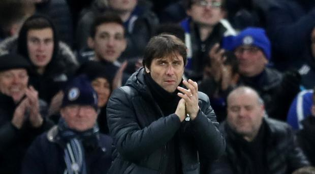 Chelsea manager Antonio Conte was pleased to see his side warm up for the clash with Barcelona in convincing fashion (Adam Davy/PA)