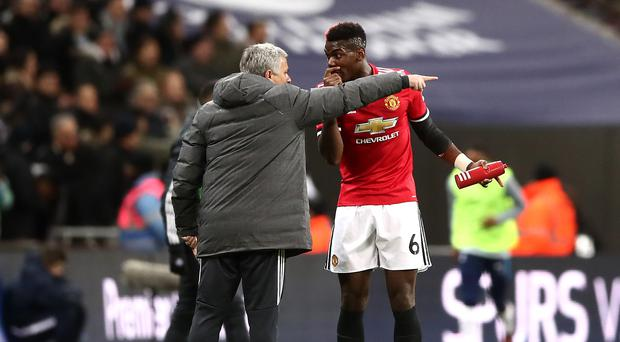 Manchester United manager Jose Mourinho's relationship with Paul Pogba is under scrutiny