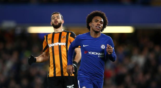 Willian predicted David Meyler's penalty miss