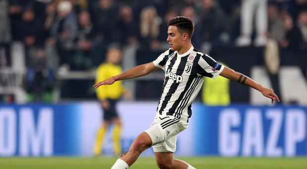 Paulo Dybala has scored 14 times for Juventus in Serie A this season