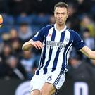 Jonny Evans started for West Brom against Southampton in the FA Cup