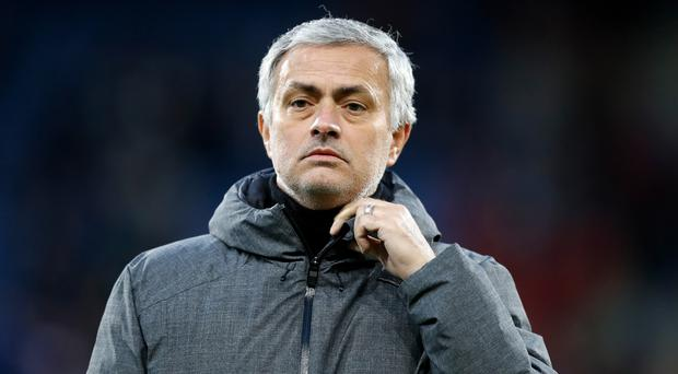 Manchester United manager Jose Mourinho was left bemused by the VAR decision which disallowed a goal for his side (Martin Rickett/PA)