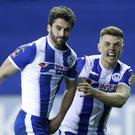 Wigan's Will Grigg scored the goal that eliminated Manchester City from the FA Cup