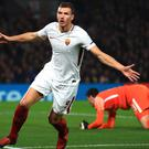Edin Dzeko is confident of Roma's chances in Ukraine