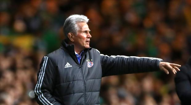 Jupp Heynckes' Bayern Munich side were unable to break down Hertha Berlin (Tim Goode/Empics)