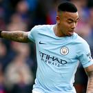 Manchester City's Gabriel Jesus is hoping to be fit for the Carabao Cup final
