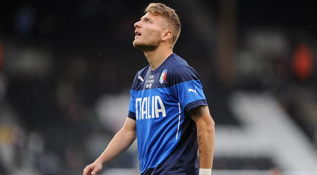 Ciro Immobile scored a penalty in Lazio's victory