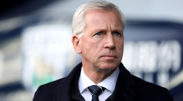 Alan Pardew is feeling the heat at The Hawthorns