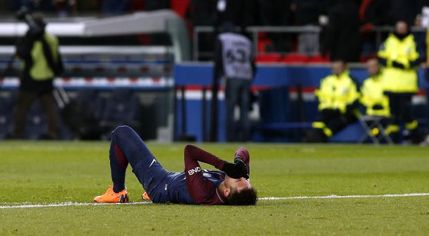 Neymar has a foot injury