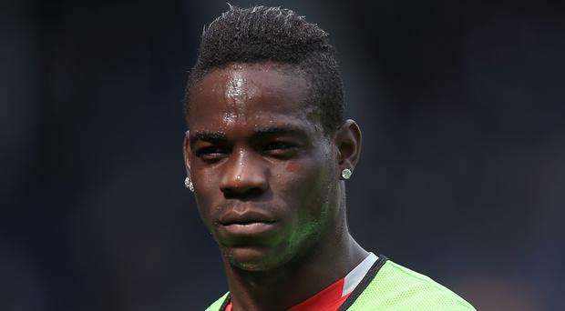 Mario Balotelli gave Nice the lead in the fifth minute of their win over Lille