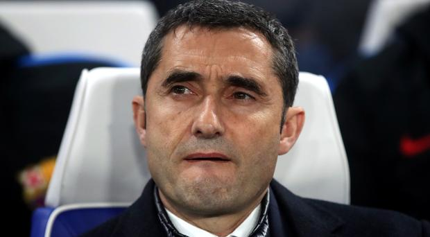Ernesto Valverde has not lost a LaLiga game as Barcelona boss