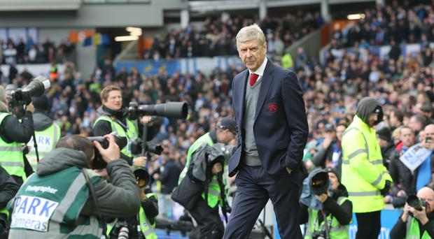 Arsenal manager Arsene Wenger is under pressure