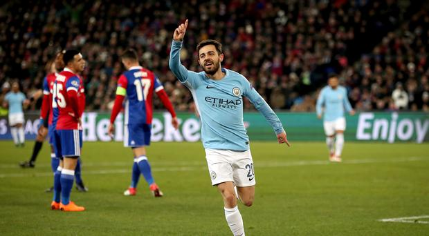 Manchester City beat Basel 4-0 in the first leg of their Champions League tie