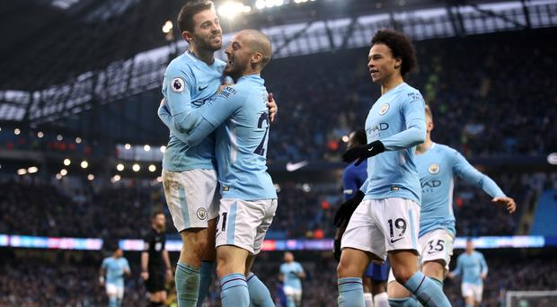 Manchester City have been outstanding this season - but not at the level of Barcelona, according to Pep Guardiola