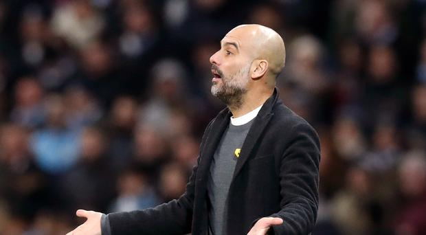 Pep Guardiola was frustrated after Manchester City were beaten by Basel