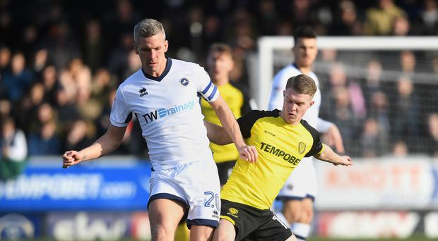 Steve Morison (left) could return to Millwall's starting line-up