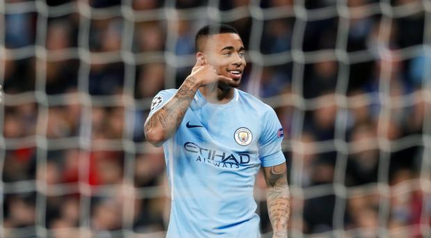 Gabriel Jesus scored on his return to the Manchester City starting line-up against Basel
