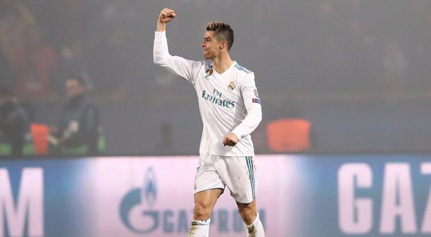 Cristiano Ronaldo scored both goals for Real Madrid in their victory at Eibar