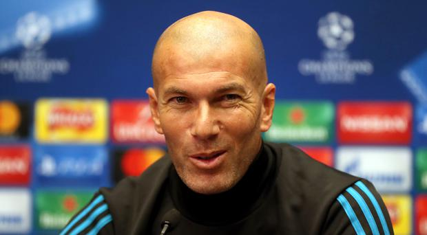 Real Madrid manager Zinedine Zidane heaped huge praise on Cristiano Ronaldo