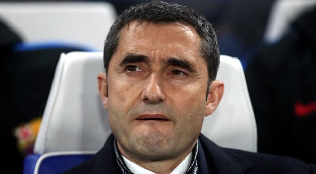 Barcelona head coach Ernesto Valverde will now turn his focus to the Champions League tie against Chelsea