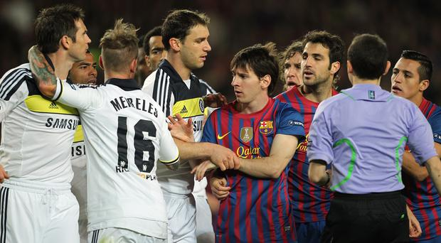 Chelsea and Barcelona have had some memorable clashes