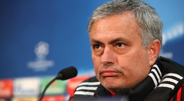 Manchester United boss Jose Mourinho has refused to answer questions about his lucrative punditry job with controversial Russian channel RT