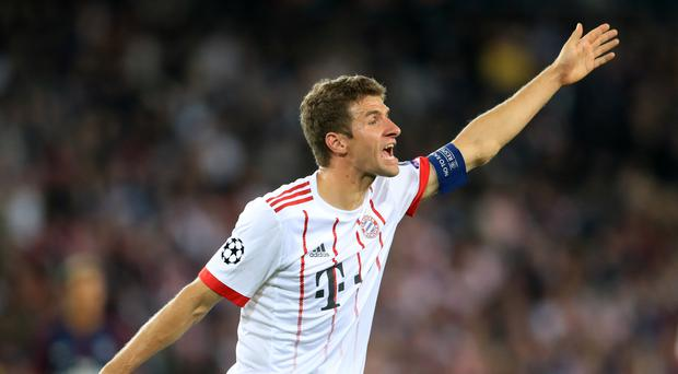Thomas Muller says Bayern Munich mean business at Besiktas
