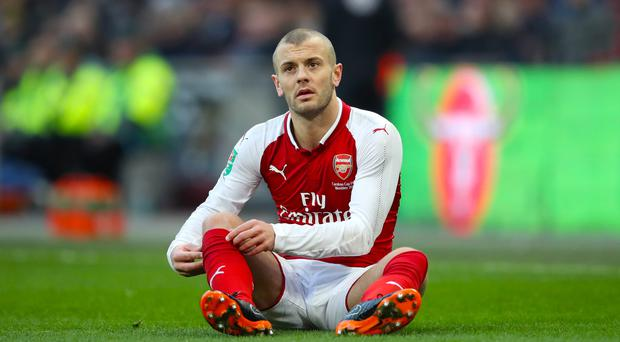 Jack Wilshere's Arsenal future remains uncertain (Adam Davy/Empics).