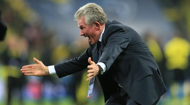 Bayern Munich coach Jupp Heynckes set a new Champions League record of 11 successive victories