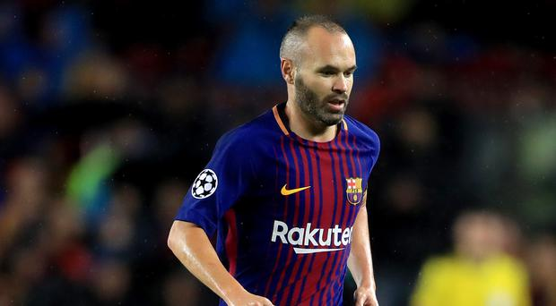 Barcelona's Andres Iniesta is considering a move to China (John Walton/Empics/PA)