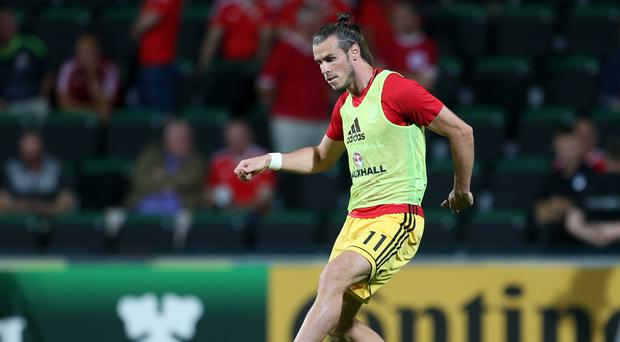 Wales' Gareth Bale is set for the China Cup