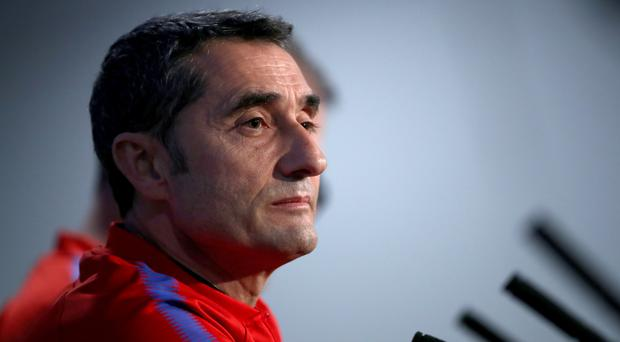 Ernesto Valverde will face his former club when Barcelona take on Athletic Bilbao